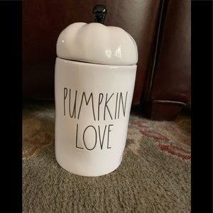 Rae Dunn Pumpkin Love Candle